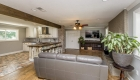 living kitchen - greenwell springs home for sale