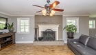 wood burning fireplace - greenwell springs home for sale