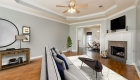 living area staged - gonzales home for sale michael anthony ct