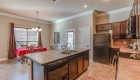 large kitchen island prairieville home for sale