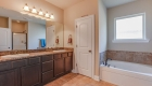 dual vanity in master bath prairieville home for sale